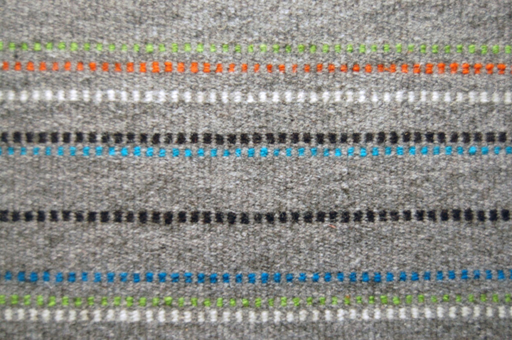 tapis gris confettis