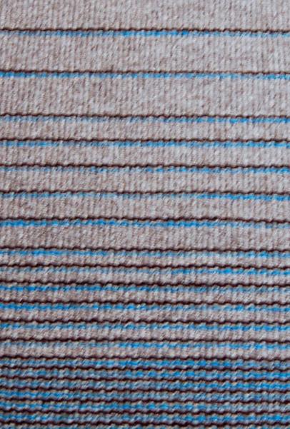 tapis horizon bleu